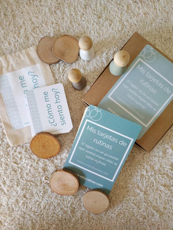 Pack tarjetas de rutinas y sentimientos